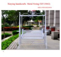 Wrought Iron Metal Garden Swing Chairs Manufacture,Hanging ...