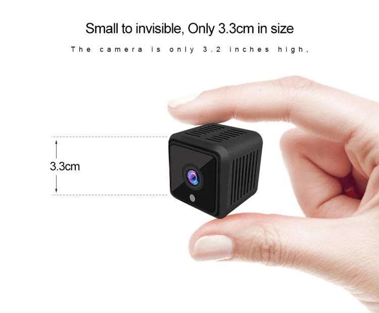 Very Small Mini CCTV Camera Night Vision Wireless Hidden IP Camera de Surveillance Wifi HD 720P