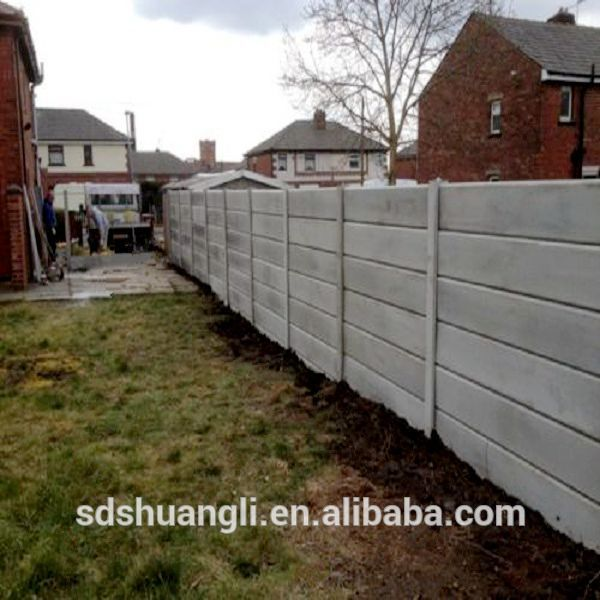 Decorative Concrete Fencing Post Mold For Prefab House