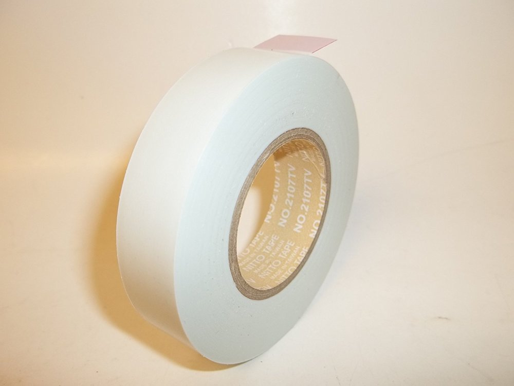 medium resolution of get quotations 12 pcs white nitto 2107tv tape 20m x 15mm colored electrical tape