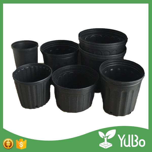 petits pots en plastique 50 pieces 1 gallons pot bon marche pour arbre a plantes en plastique noir pour semis buy pots en plastique de 1 gallon pot