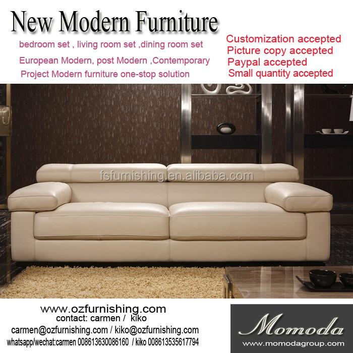leather italia sofa furniture full grain semi aniline jr8078 voage modern luxury italy beige genuine italian style living room couch