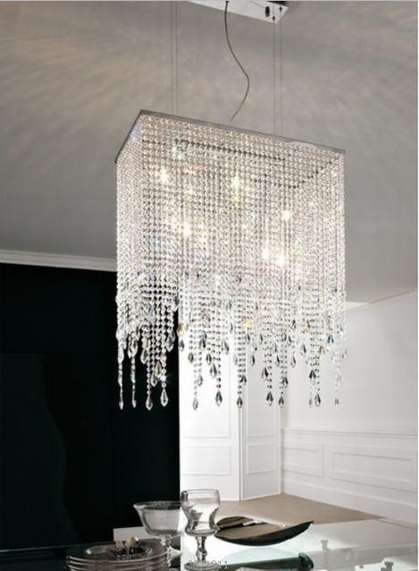 Vaille Crystal Chain Chandelier Product On Alibaba