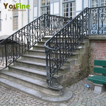 Home Decorative Outdoor Wrought Iron Stair Railings View | Outdoor Iron Stair Railing | Porch | Iron Pipe | Commercial | Galvanized Iron | Redwood