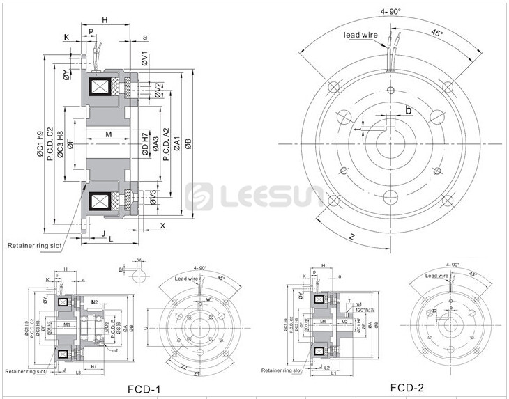 Fcd-015-06 Chinese Factory Manufacture Electromagnetic