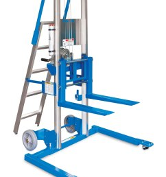 get quotations genie lift gl 10 straddle base with ladder heavy duty aluminum [ 1805 x 2500 Pixel ]