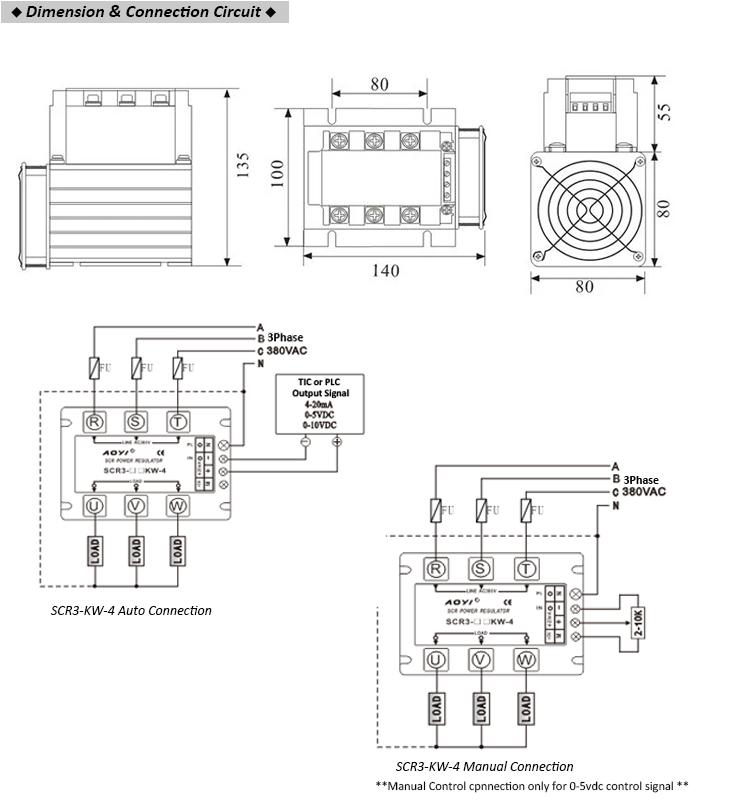 Signal 0-5vdc/0-10vdc/0-20ma Servo Controlled Voltage