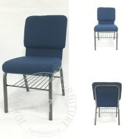 Factory wholesale upholstered stackable church chairs ...