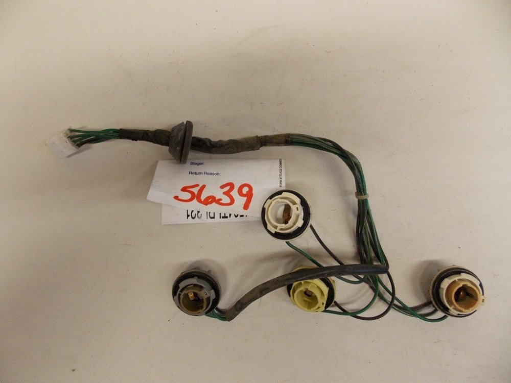 medium resolution of get quotations 00 02 hyundai accent right tail light harness oem 5639