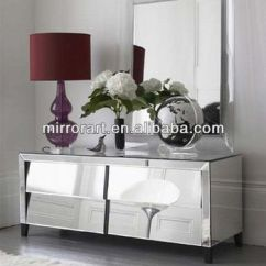 Mirrored Living Room Ideas With Brown Sofa Modern Furniture Tv Console Table Buy