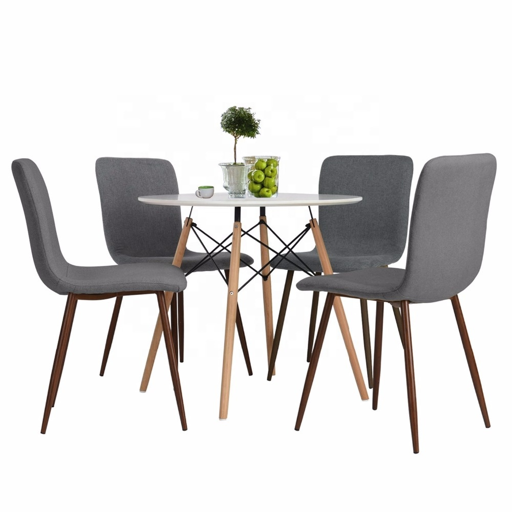 Sturdy Dining Room Chairs Fabric Cushion Kitchen Chairs With Sturdy Metal Legs For Dining Room Grey Buy Grey Velvet Dining Chair Dining Wood Chair Cafe Dining Chair Product