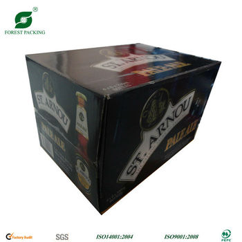 6 Pack Beer Holder Box With Tuck Flap