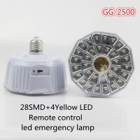 Indonesia 28 Smd+4yellow Led Emergency Led Rechargeable