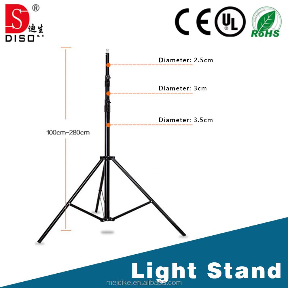 medium resolution of 280cm light tripod light stand