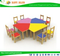 Colorful Design Children School Furniture Table Chair For
