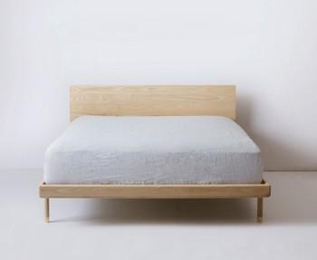 bois massif naturel pin massif en bois super king size lit pour chambre