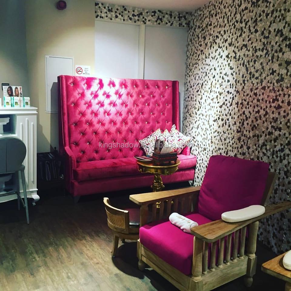 Pedicure Cart Pink Salon Furniture Pedicure Spa Chair