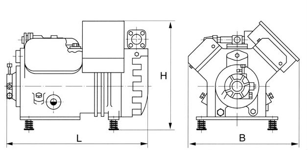 D4dt-2200 Dc Copeland Compressor Low Price,Copeland