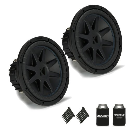 small resolution of get quotations kicker 44cvx124 compvx 12 subwoofers bundle dual 4 ohm voice coils for wiring to