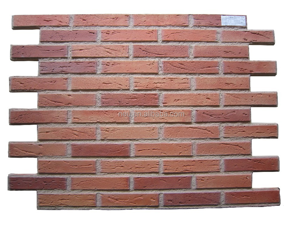 Interior &exterior Fake Brick Siding Panels