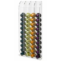 Wall Mounted Acrylic Nespresso Capsule Holder Coffee Pod ...