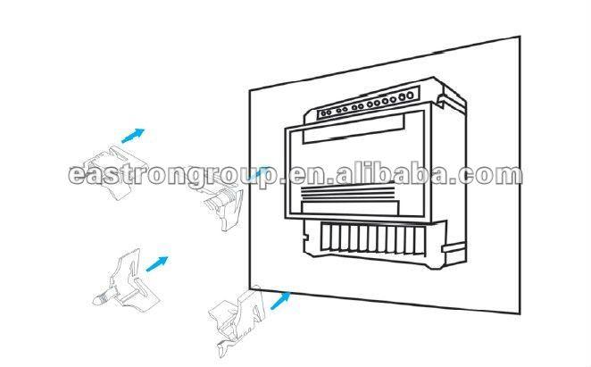 digital power meter panel mounted with 330mV AC input