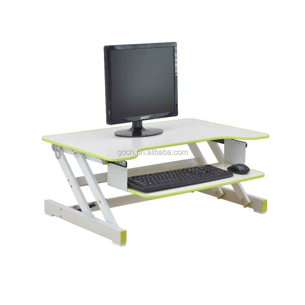 Wooden Stand Up Desk Computer Standing Desk Portable