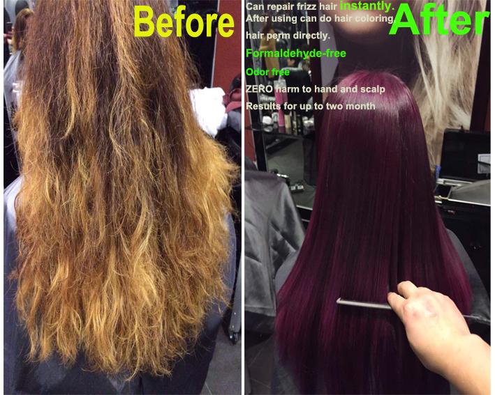 London Brazilian Keratin Hair Straightener Keratin Shampoo