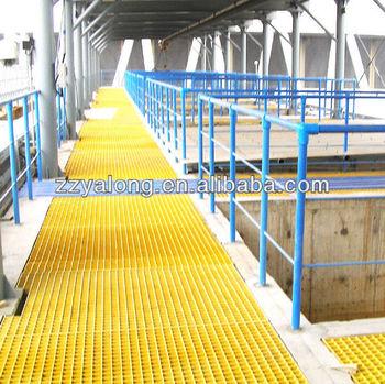 Fibre Glass Reinforced Plastic Grating Flooring,Fiberglass