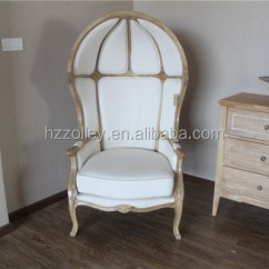 French Canopy Chair Bedroom Name Classic Vintage Queening Half Dome Chairs