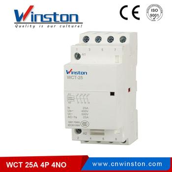 schneider ict 25a contactor wiring diagram 1981 honda cb750c modular homes 4no electrical 4p wct manual