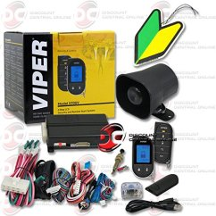 Viper 5305v Car Alarm 2007 Honda Civic Ex Stereo Wiring Diagram Cheap For Sale Find Deals Get Quotations 2013 Responder Lc3 Supercode Sst 2 Way Security System With Keyless Entry