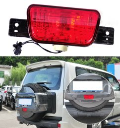 get quotations beler rear spare tire lamp tail bumper light fit for mitsubishi pajero shogun [ 1110 x 1110 Pixel ]