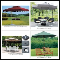 Windproof Garden Umbrella,Patio Umbrella,Outdoor ...