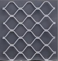 Interior Security Aluminium Window Grill Design - Buy ...