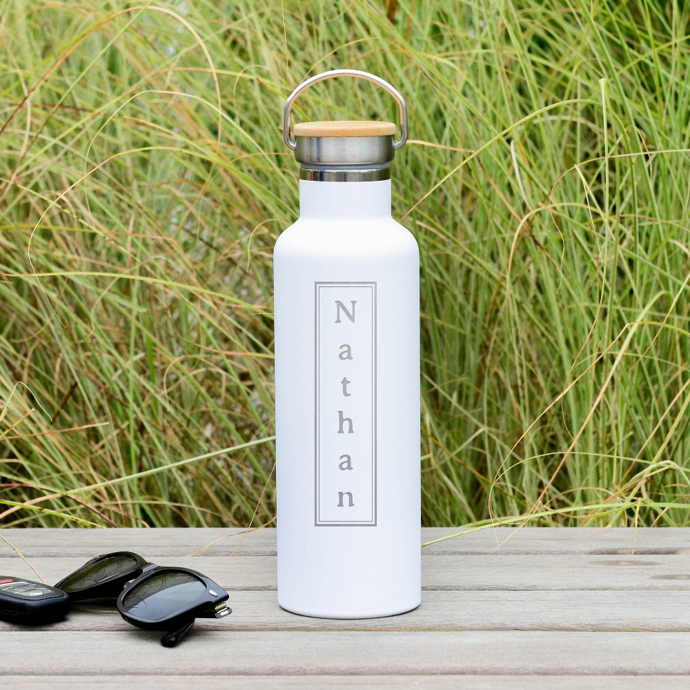 personalized stainless steel water