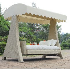Hanging Chair Hammock What Is The Purpose Of A Rail Popular Garden Ratttan Swing Bed With Canopy/ Outdoor Rattan - Buy ...