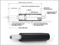 Rocking Auto Return Mechanism Piston Gas Lift Hydraulic ...