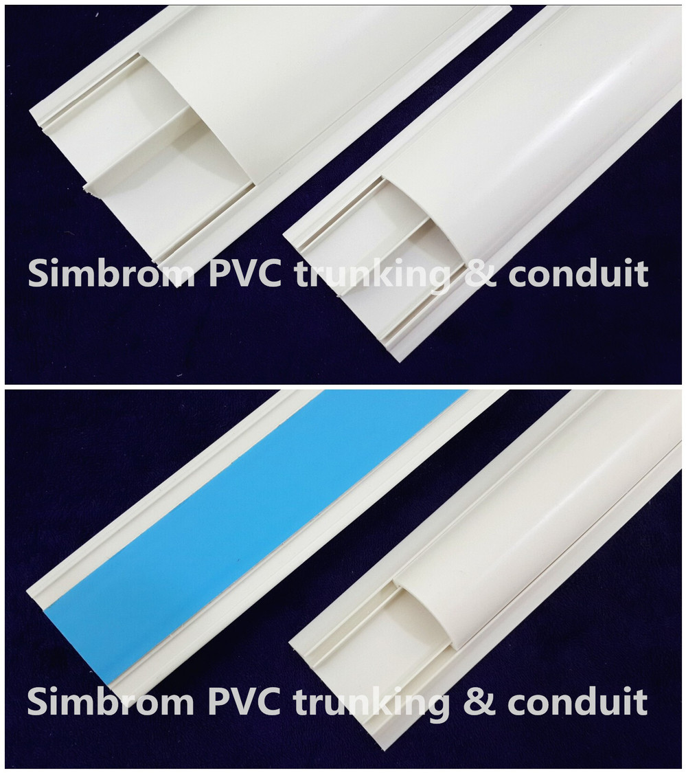 200100mm Big Cable Trunking Pvc Wire Casing  Buy Pvc