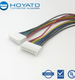 oem odm custom exw price jst cable bnc scn connector for computer wiring harness 2 54mm pitch 8 pin cable assemblies connector [ 1000 x 1000 Pixel ]