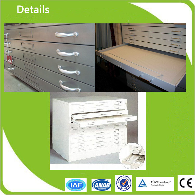 Factory 3 Main Lines 5drawer Blueprint Flat File Cabinets
