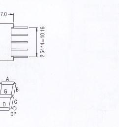 super red 0 56 inch single digit led 7 segment led display [ 1804 x 800 Pixel ]