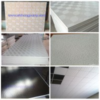 Fire Resistant 4x8 Pvc Gypsum Ceiling Panels In Guangzhou ...