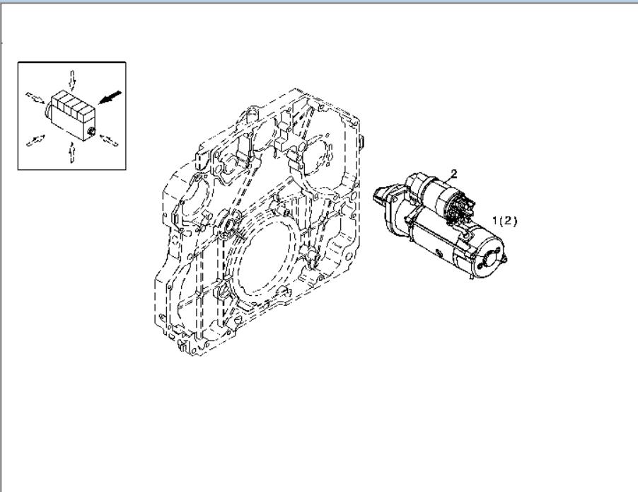 Deutz Engine Spare Parts Bfm1013 Tcd2013 L04 2v Starter