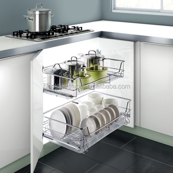 kitchen wire storage remodeling san diego fashionable slide out basket buy product on alibaba com