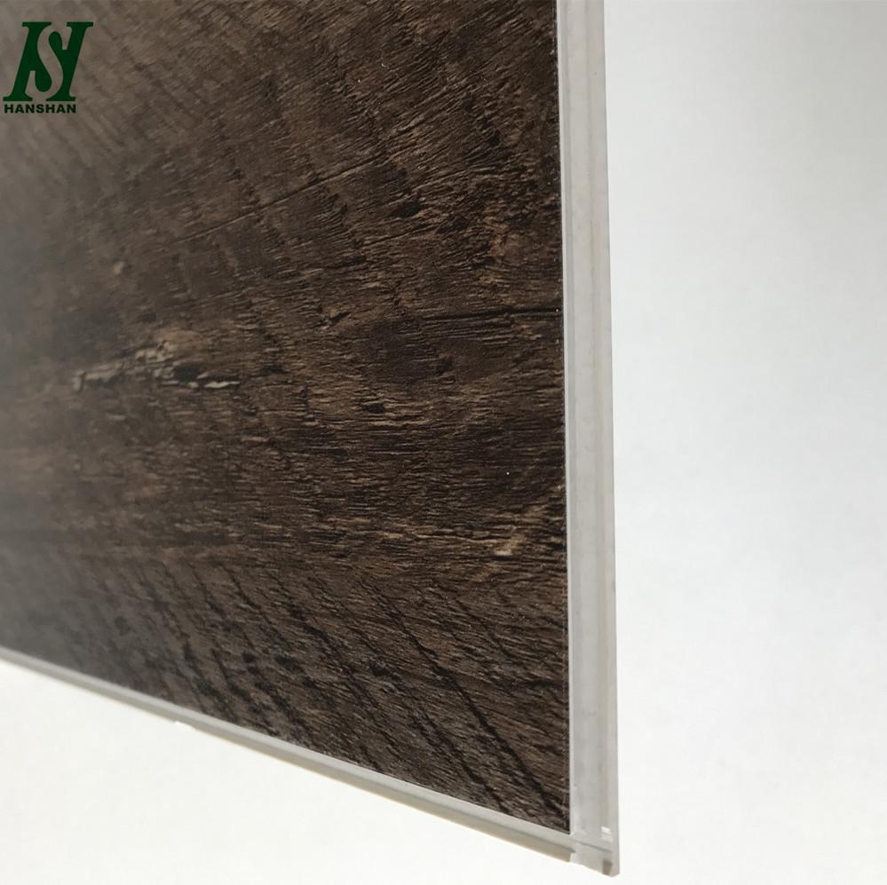 Eco Friendly Handscraped Texture Waterproof Pvc Spc Vinyl Click