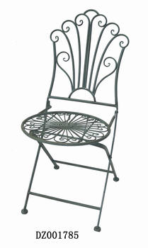 black metal folding garden chairs maestro pedicure spa chair antique wrought iron outdoor buy product on