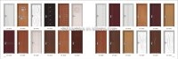 Alibaba China Hot Sale Pvc Wooden Door Different Types Of
