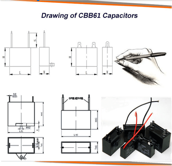 Single Phase Ac Motor Ceiling Fan Wiring Diagram Capacitor Cbb61