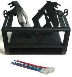 get quotations asc audio car stereo dash kit and wire harness for installing a single din radio for [ 1200 x 1442 Pixel ]